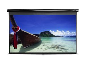 "Elitescreens 106"" HDTV(16:9) Manual Series Projection Screen (92.4"" x 52"") M106UWH-E24"