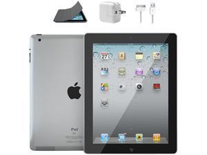 Refurbished: Apple MC769LLA iPad 2 16 GB Tablet w/ Wi-Fi - Black