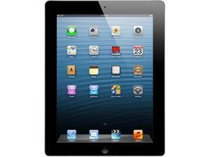 "Apple iPad 4 MD510LL/-B 9.7"" Retina Touchscreen 16 GB Apple A6 1.40 GHz iOS 6 Wi-Fi Only Black (B Grade)"
