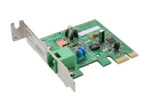 Zoom 3037-00-00G Data/Fax V.92 Low Profile PCI Express Modem
