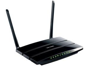 TP-LINK TD-W8970 Wireless N300 Gigabit ADSL2+ Modem Router, 2.4 GHz 300 Mbps, 802.11b/g/n, 1 USB 2.0 Port, 2 x 5 dBi detachable antennas