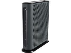 Motorola MG7310 8x4 343 Mbps DOCSIS 3.0 Cable Modem Plus N300 Wireless Gigabit Router Certified by Comcast XFINITY, Time Warner and More