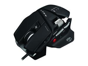 Mad Catz MCB4370500B2/04/1 Black 5 Programmable Buttons and 2 regular left and right mouse buttons Buttons 1 x Wheel USB Wired Laser R.A.T. 5 Gaming Mouse