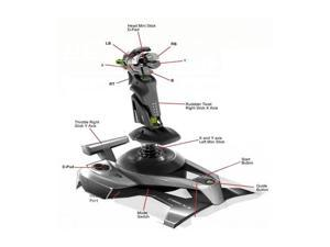 Mad Catz Cyborg F.L.Y. 9 Wireless Flight Stick for Xbox 360