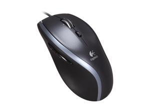 Logitech M500 Gray Tilt Wheel USB Corded Laser Mouse