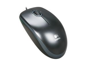 Logitech B120 USB Mouse - Black