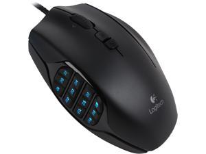 Logitech G600MMO Gaming Mouse - Black