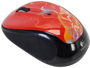 Logitech M325 910-002967 Crimson Ribbons RF Wireless Optical Mouse