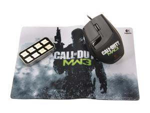 Logitech Call of Duty: MW3 Edition G9X (910-002764) Black Tilt Wheel USB Wired Laser Gaming Mouse