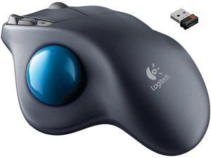Logitech M570 Wireless Trackball Mouse - Gray