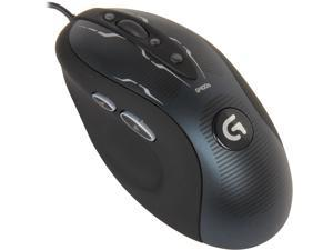Logitech G400s 910-003589 Black 8 Buttons 1 x Wheel USB Wired Optical Gaming Mouse