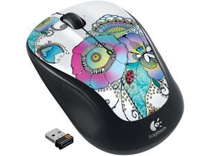 Logitech M325 910-003684 1 x Wheel USB RF Wireless Optical Mouse - Lady on The Lily