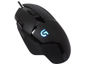 Logitech G402 910-004069 Black 8 Buttons 1 x Wheel USB Wired Optical Hyperion Fury FPS Gaming Mouse with High Speed Fusion Engine