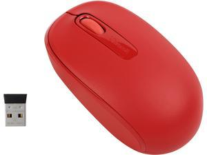 Microsoft Wireless Mobile Mouse 1850, Red (U7Z-00031)