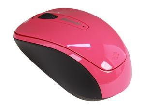 Microsoft L2 Mobile Mouse 3500 GMF-00278 Magenta Pink USB RF Wireless BlueTrack Mouse