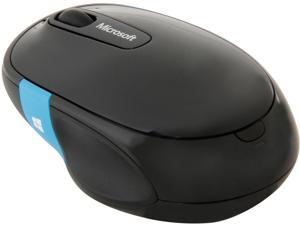 Microsoft Sculpt Comfort Mouse H3S-00003 Black Tilt Wheel Bluetooth Wireless BlueTrack Mouse
