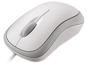 Microsoft 4YH-00008 White Optical Mouse