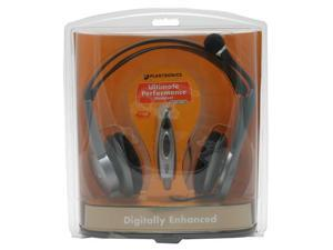 PLANTRONICS DSP500 USB Connector Circumaural PC Headset with Microphone Boom and Digital Signal Processing