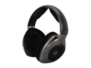 Sennheiser Black HDR 180 3.5mm/ 6.3mm/ RCA Connector Around-Ear Supplemental RS180 Wireless Headphone (Charger/Transmitter not included)
