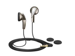 Sennheiser Brown MX365Brown 3.5mm Connector Earbud Headphone/Headset