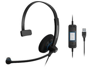 SENNHEISER SC 30 USB CTRL USB Connector Single Ear Headset