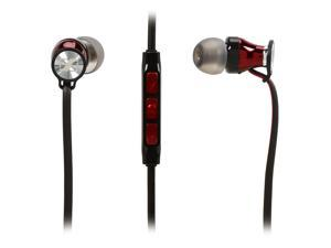Sennheiser Momentum In-Ear Headphones - iOS Devices - Black/Red