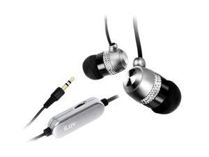 iLuv - In-ear Earphones w/ Volume control (i353) SILVER