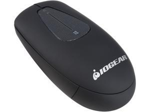 IOGEAR GME581R Black Touch Scroll RF Wireless Mouse