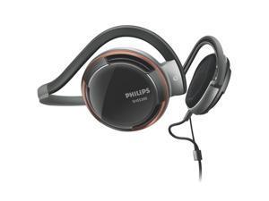 PHILIPS SHS5200/28 3.5mm Connector Supra-aural Neckband Headphones