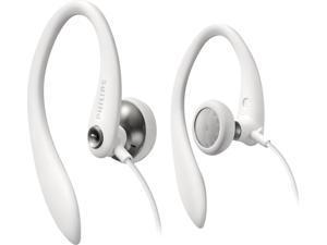 Philips SHS3200 Flexible Earhook Headphone - White