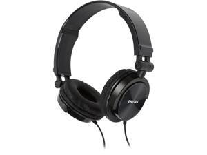 Philips SHL3050 On-Ear DJ Monitor Style Headphones, Black