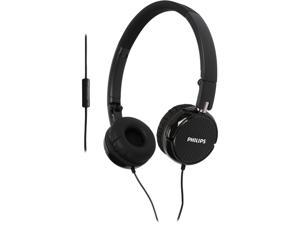 PHILIPS FS3MBK On-ear Headphones with mic - Black