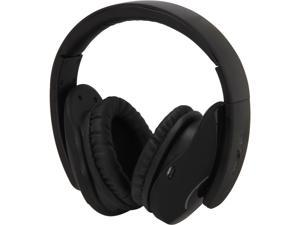 SYBA Oblanc SHELL 3.5mm Connector Circumaural 2.1 Headphones Treble and Subwoofer Dual Drivers in each Ear Cup, Black