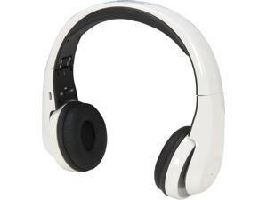 SYBA Multimedia White CL-AUD23040 V3.0 Bluetooth APTX Hi-Def Sound Headphone with Microphone