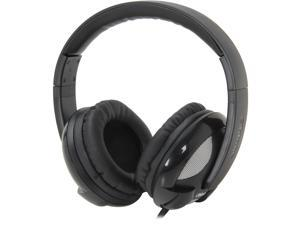 SYBA Oblanc U.F.O 200 Around-Ear 2.0 Stereo Headphone with In-line Mic OG-AUD63042-2