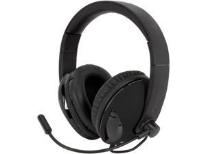 SYBA Cobra Black OG-AUD63065 3.5mm Connector COBRA510 NC2 5.1 Surround Sound Stereo Headphone with Boom Microphone