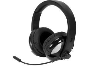 SYBA Black/Black OG-AUD63067 UFO510 NC2 5.1 Surround Sound Stereo Headphone with Boom Microphone