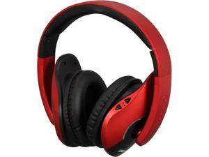 SYBA Red OG-AUD23047 Oblanc SHELL200BT Bluetooth V2.1+EDR Class 2 A2DP, AVRCP Headphones with Built-in Microphone