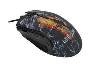 RAZER Imperator Battlefield 3 Edition Black 1 x Wheel USB Wired Laser & Optical Dual Sensor Mouse