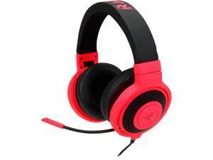 Razer Kraken Pro Over Ear PC Gaming and Music Headset - Neon Red