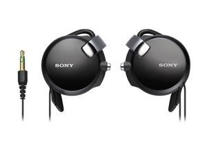 SONY - Clip-on Headphones w/ Retractable Cord (MDR-Q68LW)