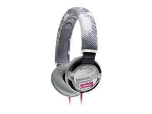 Sony Gray/Pink PIIQ Over Ear Super Bass Headphones w/ 3.5mm Jack MDR-PQ2