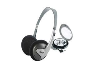 COBY CV-H89 Supro-aural / Earbud 2-in-1 Combo Lightweight Stereo Headphone & Earphone
