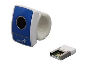 Genius 31030068101 Blue RF Wireless Optical Ring Presenter with Scrolling Mouse & Laser Pointer