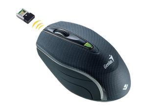 Genius Traveler 9010LS 31030087101 Black RF Wireless Laser Mouse