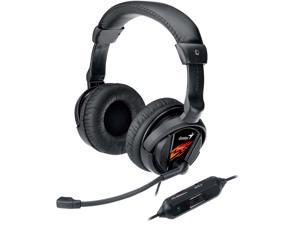 Genius HS-G500V 3.5mm/ USB Connector Circumaural Vibration Gaming Headset