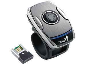 Genius Ring Mouse 2 Titanium RF Wireless Air Cursor / Optical Sensor Ring Style Air Mouse