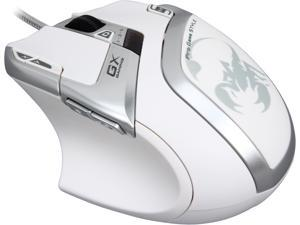 Genius DeathTaker White Edition 31040001101 9 Buttons 1 x Wheel USB Wired Laser Gaming Mouse