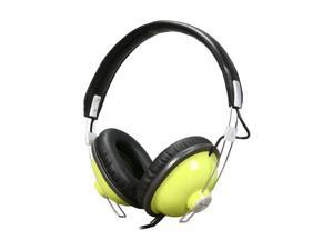 Panasonic Green RP-HTX7-G1 Retro Monitor Stereo Headphone (Green)