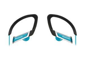 Panasonic RP-HS220-A In-Ear Clip Style Sports Headphone - Blue